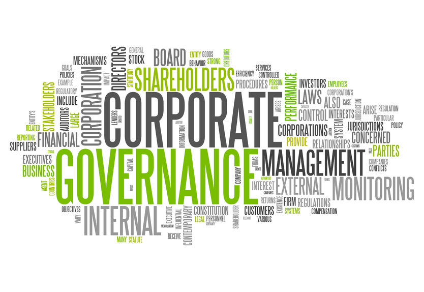Who is responsible for Corporate Governance?
