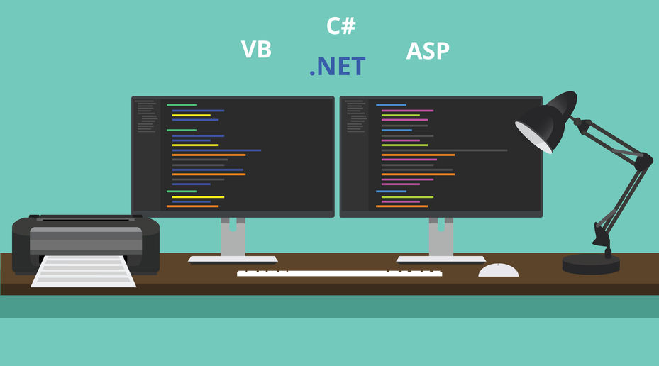 How to develop web applications using C# or VB.NET