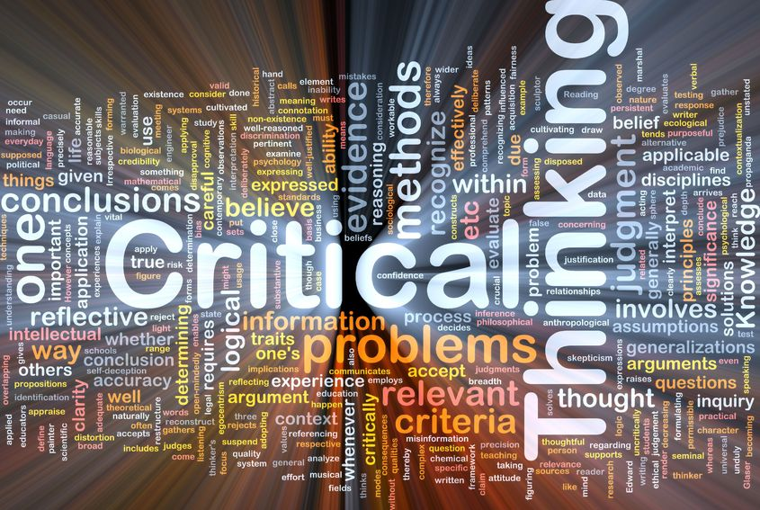 How to think critically and master problem solving