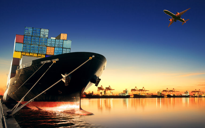 Top 10 products exported via sea freight