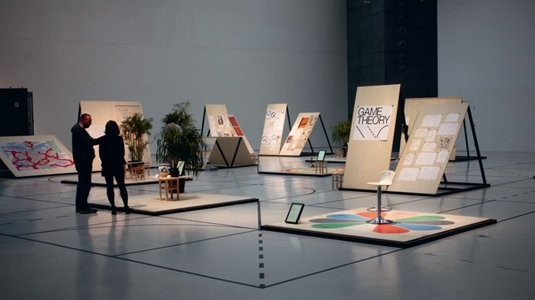 An amazing exhibition inspired by playgrounds and board games